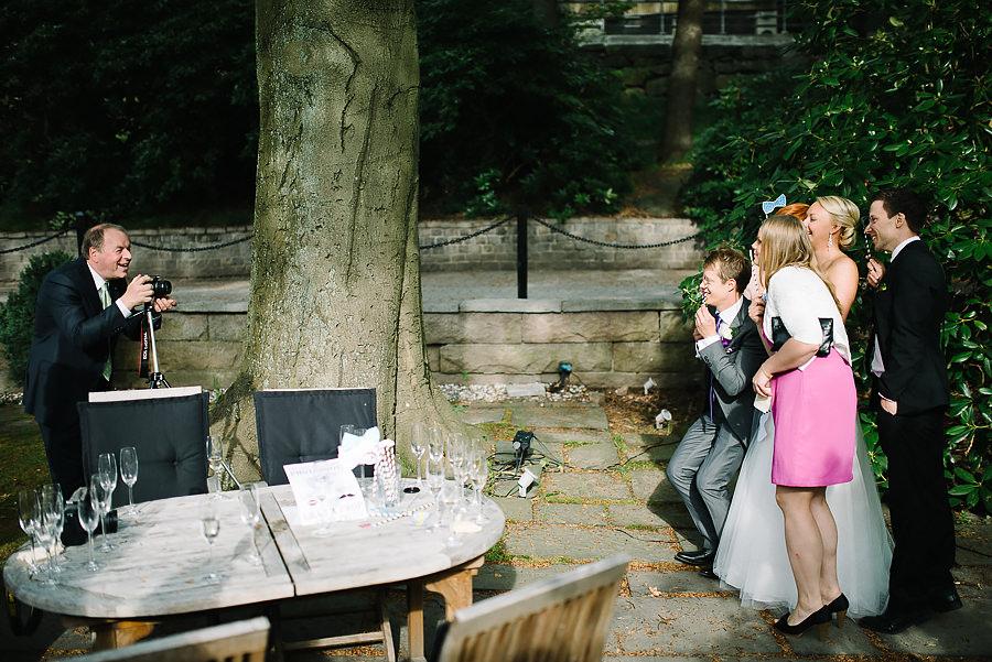 Bröllop på Villa Odinslund - Fotograf Göteborg - photo booth