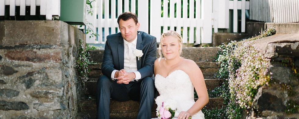 Bröllop på Marstrand Västkusten Sneak Peek Heading