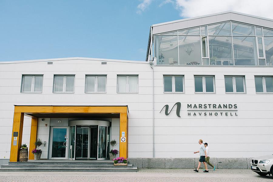 Bröllop på Marstrand - Miljöbild - Marstrands Havshotell