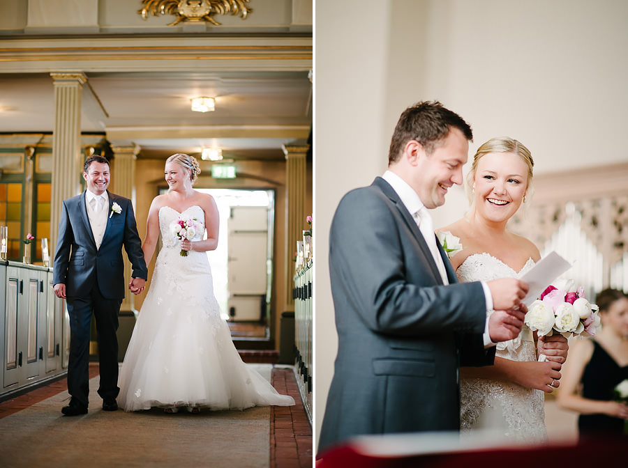 Västkustbröllop på Marstrand - Vigsel i kyrkan