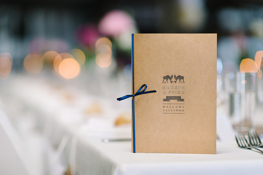 Saltstänkt bröllop på Västkusten - DIY program och detaljer