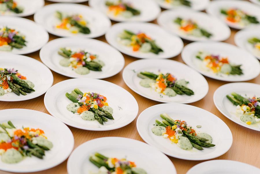 Bröllop på Marstrand - miljöbild mat