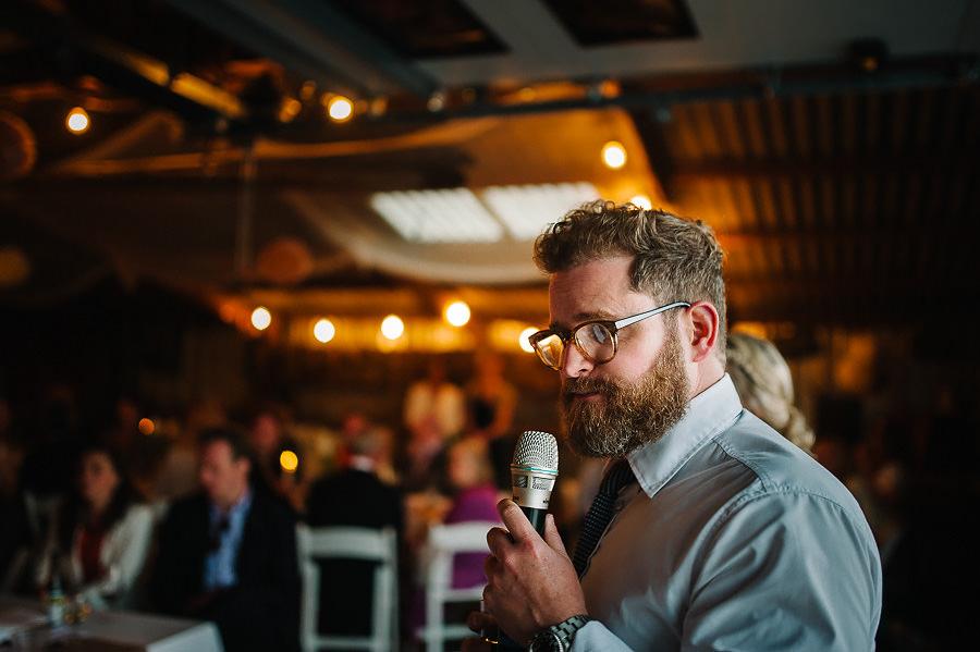 Västkustbröllop på Marstrand - middag och fest - toastmaster