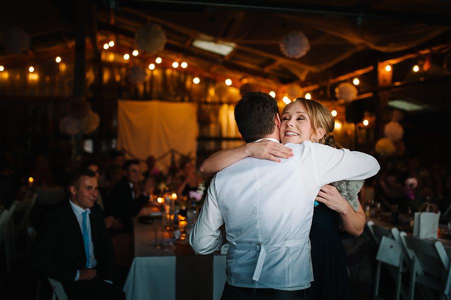 Västkustbröllop på Marstrand - middag och fest