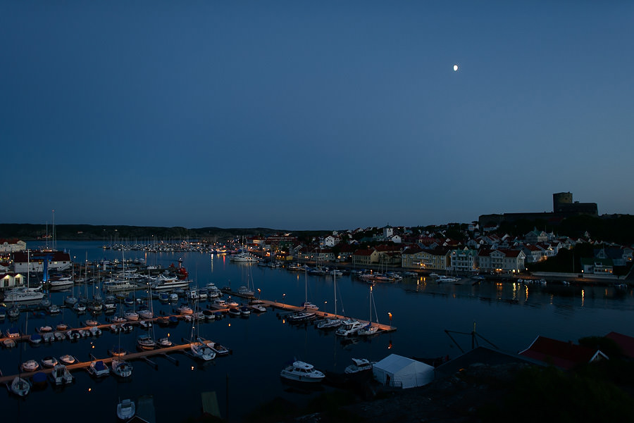 Marstrand by night - Bröllop på Marstrand
