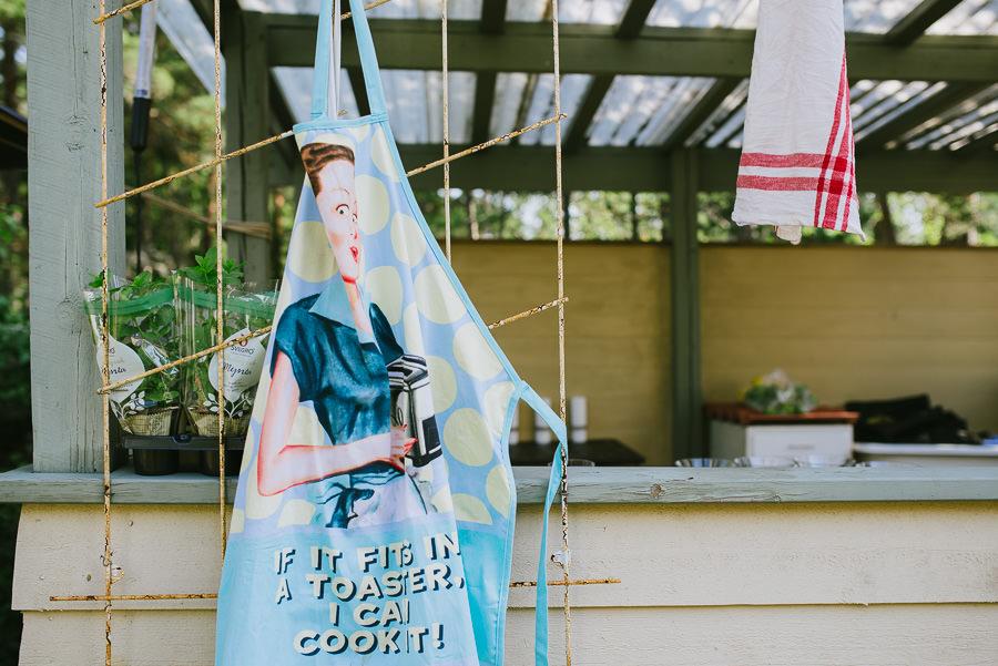 DIY-bröllop under bar himmel - Förberedelser