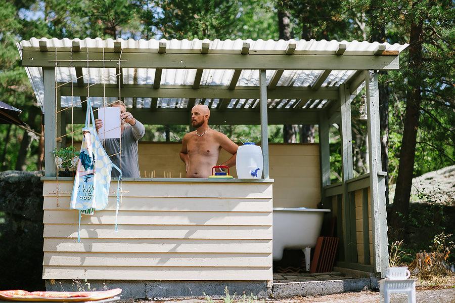 bröllop i sommarstuga - förberedelser drinklista
