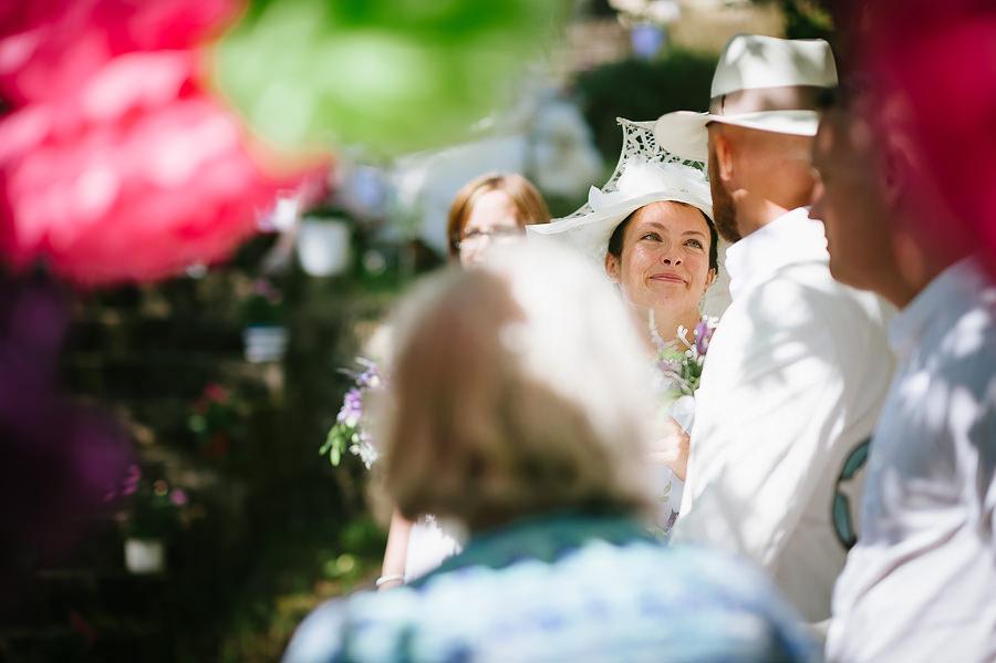 DIY bröllop i lantmijö - borglig vigsel utomhus