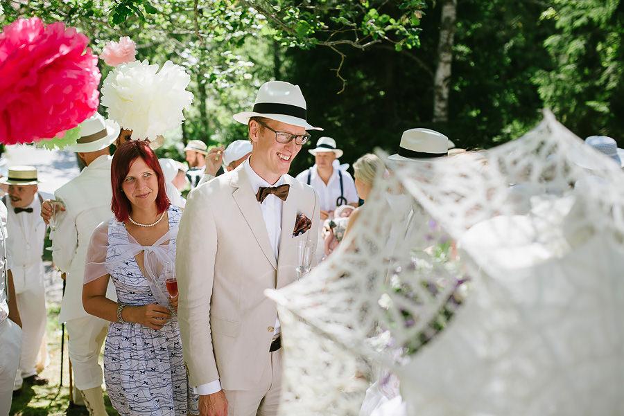 vintagebröllop i naturen - gratulationer