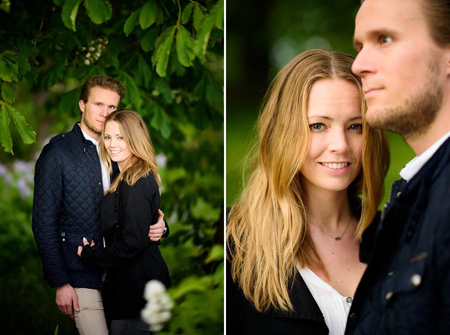 provfotografering Eriksberg Göteborg - brudpar