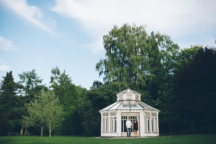 Provfotografering i Botaniska bröllopsfotograf Göteborg
