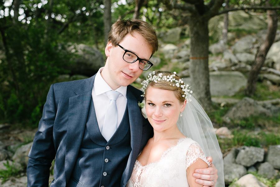 Julibröllop i naturreservat i Särö