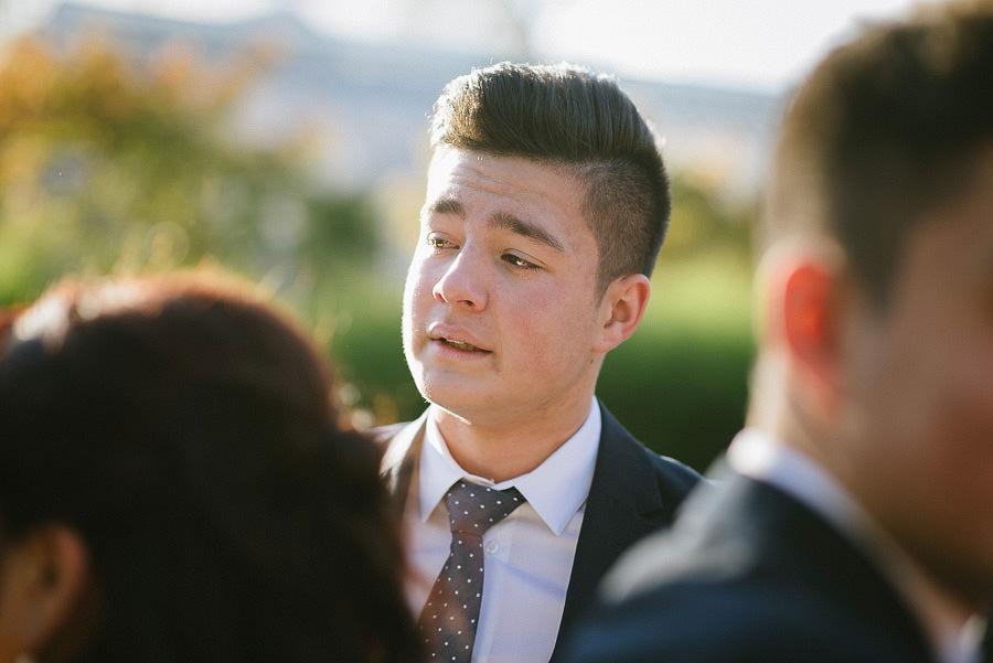 höstbröllop med utomhusvigsel i Trädgårdsföreningen - gratulationer