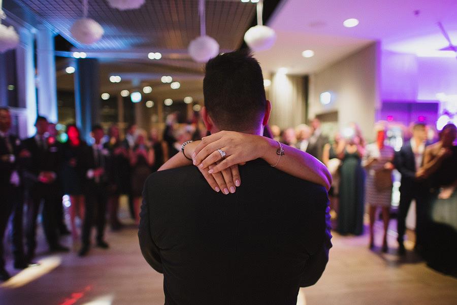 bröllopsmiddag på Imagine Gothia Towers, Göteborg - första dansen