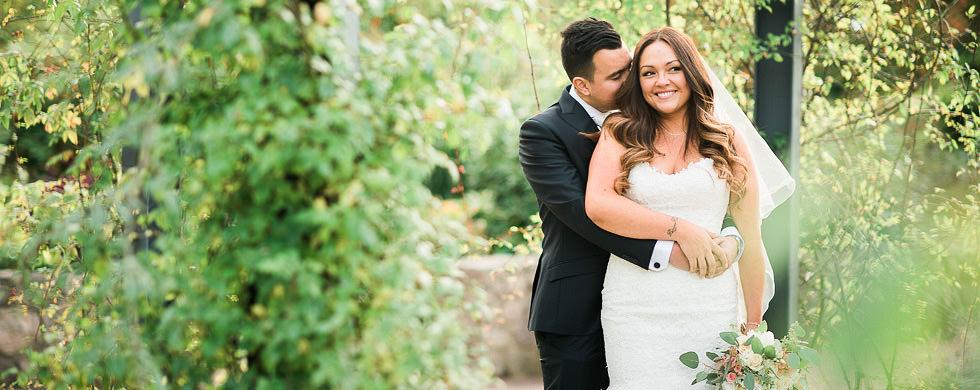 Höstbröllop med utomhusvigsel i Trädgårdsföreningen Göteborg