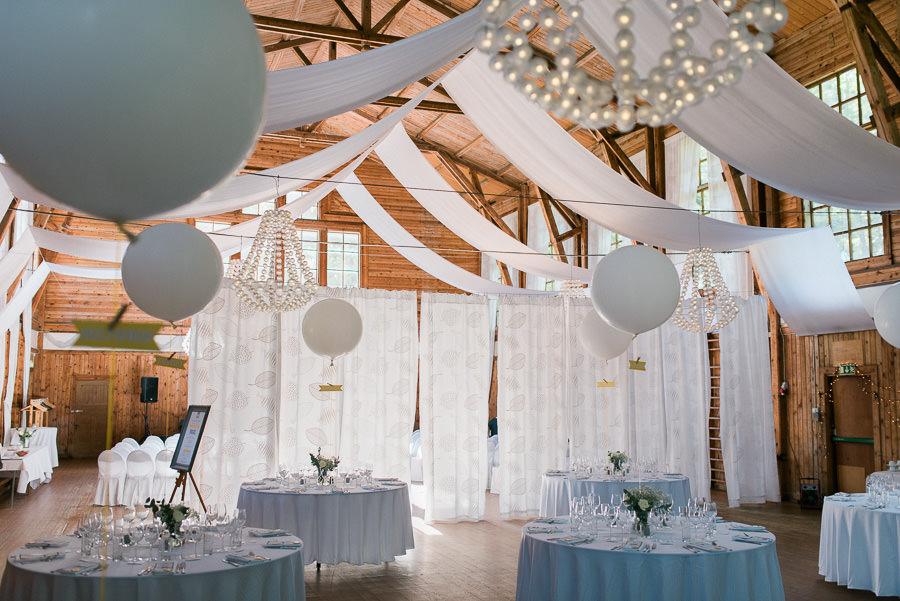Bröllop på lekhuset Nääs utanför Göteborg - dukning