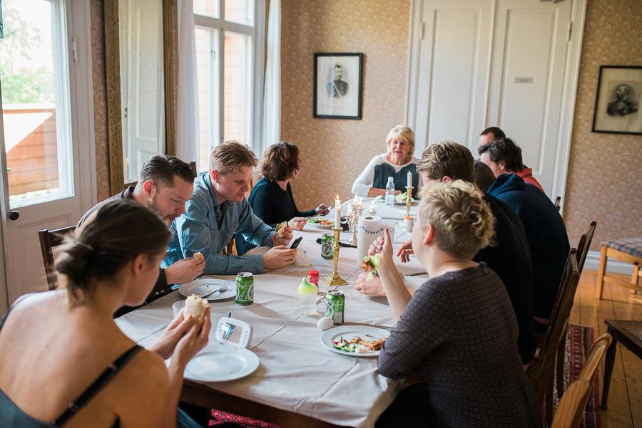 Höstbröllop på Nääs - lunch