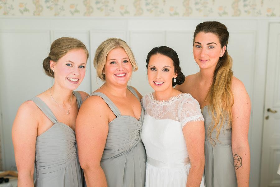 Bröllop på Nääs - brudföljet