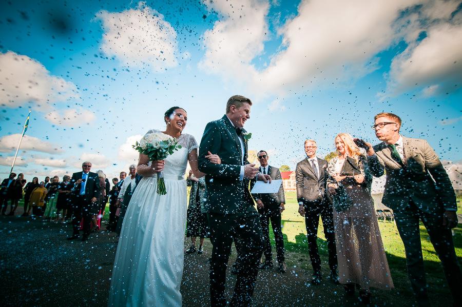 Bröllop på Nääs - rosenblad